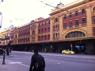 Flinders Street train station