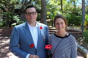 Remembrance Day ceremony, Victoria Park (Perth), Western Australia