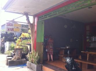 "Favourite warung ""Sika"", Canggu, Bali, Indonesia"