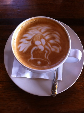 Christmas latte, Canggu, Bali, Indonesia