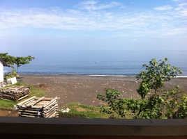 View from guesthouse, Amed, Bali, Indonesia