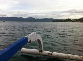 Fishing boat to Gili Meno, Indonesia
