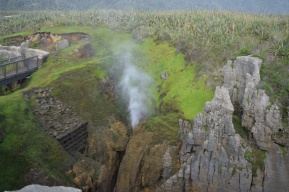 Punakaiki Pancake Rocks and Blowholes