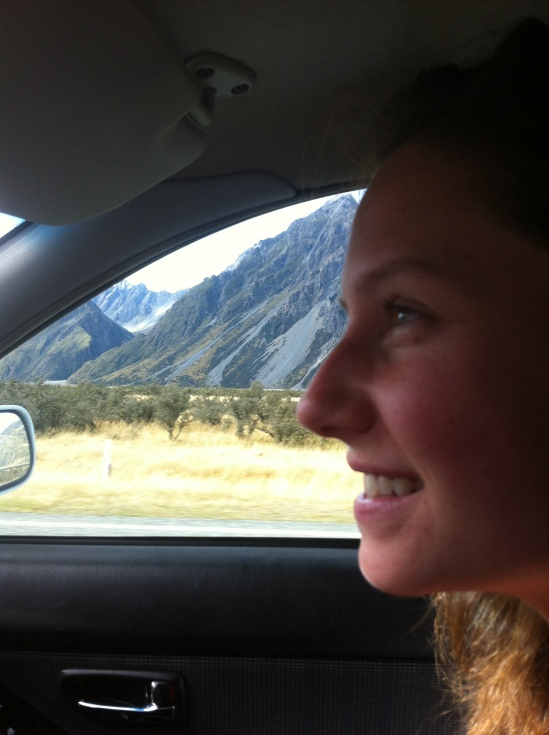 En route to Mt. Cook